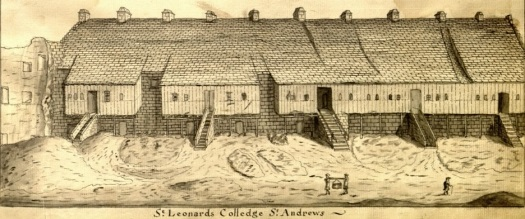 Historic Picture of St Leonard's College, University of St Andrews