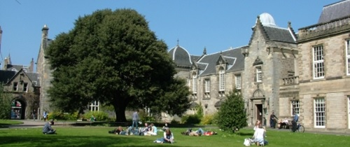 St Mary's Quad at the University of St Andrews