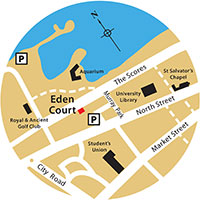 Eden Court location map