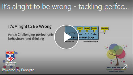its alright to be wrong - tackling