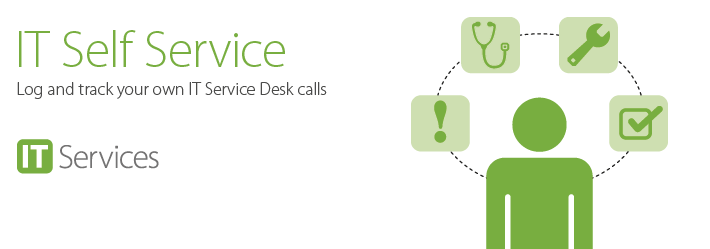 You can now log a service desk call