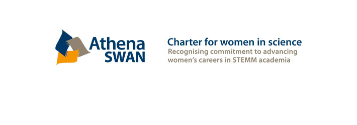 Athena SWAN. Charter for women in science. Recognising commitment to advancing women's careers in STEMM academia.